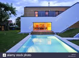 moderne holzhã user architektur wohnhaus holzbau swimming pool moderne architektur holzhaus