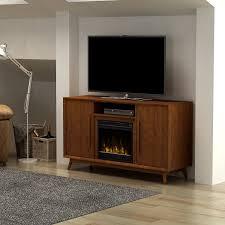 amazon com pamari 203355 rivara tv stand with electric fireplace