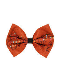 hair bow tie things alphabet lights hair bow hot topic