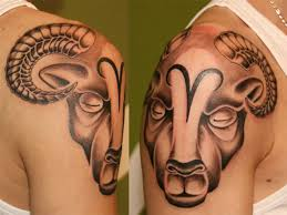 22 masculine aries tattoos for men