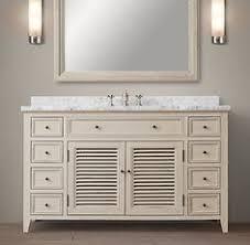 Restoration Hardware Bathroom Vanity by St James Single Extra Wide Vanity Crazy Expensive Restoration