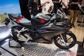 honda cbr rr price honda cbr250rr debuts at 2016 indonesia auto show 68 photos