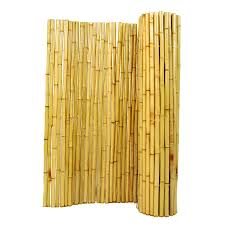 Bamboo Blinds For Outdoors by Shop Backyard X Scapes 96 In W X 48 In H Natural Bamboo Outdoor