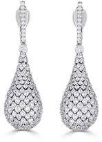 diamond teardrop earrings pave diamond teardrop earrings shopstyle