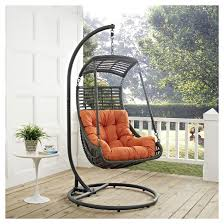 jungle outdoor patio swing chair modway target