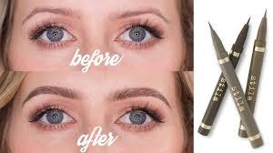eyebrow feather tattoo uk eyebrow tattoo effect how to create microbladed eyebrows youtube