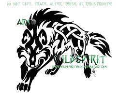 nordic knots designs fenrir knotwork wolf by