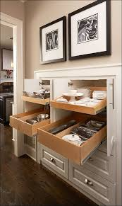 Kitchen  Under Cabinet Sliding Shelves Pull Out Shelf Slides - Kitchen cabinet sliding drawers