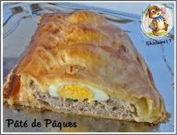 cuisine de paques pâté de pâques ghislaine cuisine