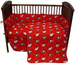 Dodger Crib Bedding by Georgia Uga Bulldogs 5 Piece Baby Crib Bedding Set