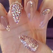 Rhinestone Nail Design Ideas 543 Best Pretty Nails Images On Pinterest Pretty Nails Make Up