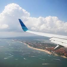 airasia ngurah rai airport best plane window seat view between singapore and denpasar bali island
