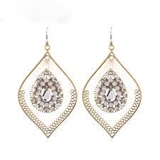 beautiful costume earring models jewelry large earrings women