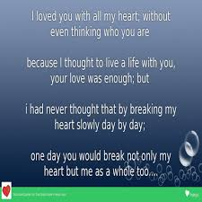 Love Life Quote by Sad Love Quote In English
