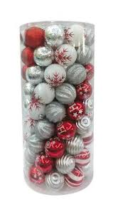time shatterproof ornaments white silver walmart