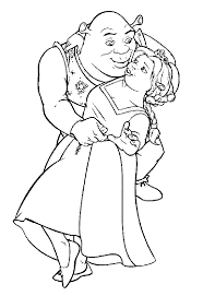 shrek coloring pages shrek coloring