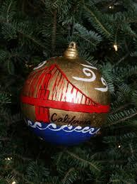 ornaments representing california