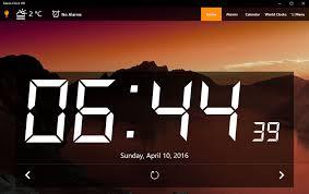 horloge sur bureau windows mot clé horloge portail francophone d informatique
