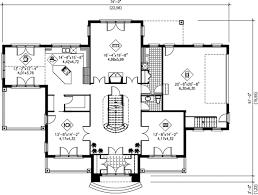 european style house plan 5 beds 3 50 baths 4175 sq ft plan 25 297