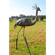 garden animal sculptures black country metal works