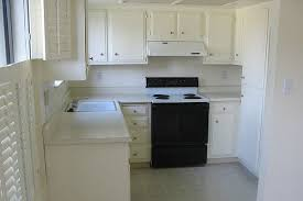White Small Kitchen Designs Small Kitchen With White Cabinets Homeca