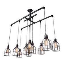 Linear Chandelier With Shade Chandeliers With A Black Shade Houzz