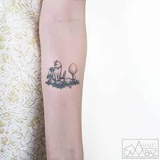 cute small tattoos by ahmet cambaz show artist u0027s illustrative