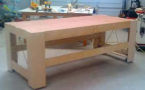 rolling work table plans work bench frame ideas jukem home design