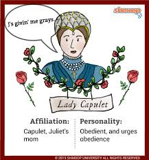lady capulet in romeo and juliet