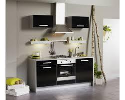 meuble haut cuisine noir laqué element cuisine design cuisines integrees cuisines francois