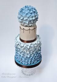 wedding cake tarta de boda fondant pastel de boda hydrangea