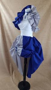 witch wizard blue grey cosplay house colours fu folksy