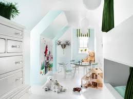 girls room that have a office up stairs 45 small space kids playroom design ideas hgtv