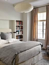 White Leather Sleigh Bed Hanging Lights Bedroom Elegant Black Drawer Black Wooden Sleigh