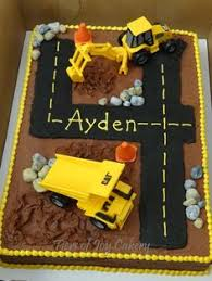 construction cake ideas construction themed 4 year boy birthday cake i think i should