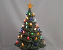 ceramic light up christmas tree imposing ideas ceramic lighted christmas tree vintage