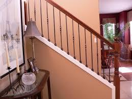 Restaining Banister Rail Wrought Iron Staircase Orange County U2014 John Robinson House Decor