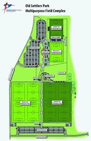Baseball Usa Houston Field Map by Round Rock Multipurpose Complex Round Rock Tx