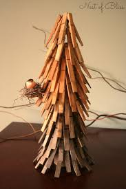 clothespin christmas tree nest of bliss