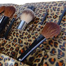 Makeup Artist Collection Urban Gal Collection Leopard Pro Cosmetics Brush Holder Apron