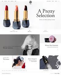 Home Care Website Design Inspiration Oribe Hair Care Ecommerce Website Design Gallery U0026 Tech Inspiration
