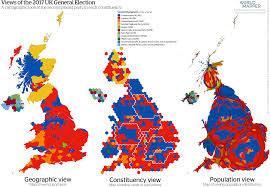 Maps Place Cartogram U2013 Mapping The 2017 General Election Geographical