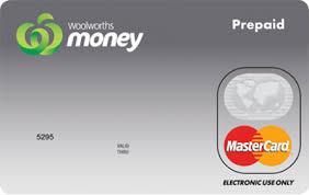 mastercard prepaid card woolworths money single load prepaid mastercard reviews