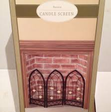 candle holder fireplace screen thesecretconsul com