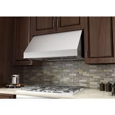 kitchen under cabinet range hood combine with modern kitchen