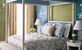 Green And Blue Bedrooms - 40 accent color combinations to get your home decor wheels turning