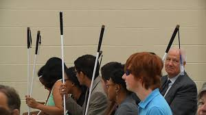Department For The Blind Program Gives Blind Vision Impaired Teens Skills To Succeed