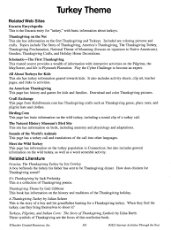 the lesson plans page thanksgiving ideas and story for kids