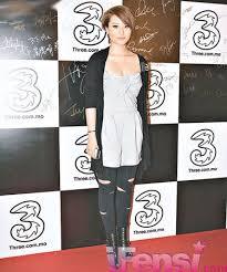 hongkong short hair style pretty eastern star style florinda ho 何超云