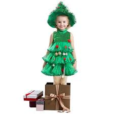 aliexpress com buy style kids christmas tree costumes